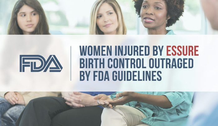 Women Injured by Essure Birth Control Outraged by FDA Guidelines