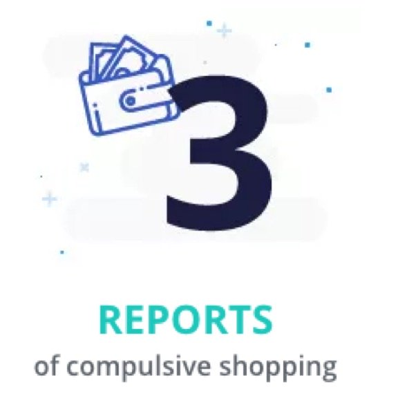 3 Reports of Compulsive Shopping