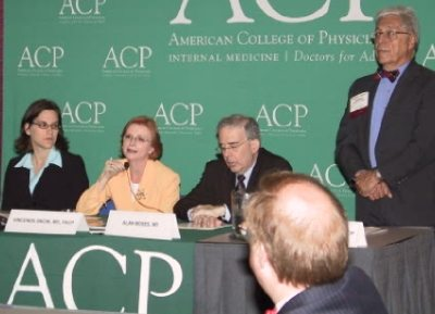American College of Physicians panel of speakers