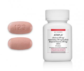 Atripla tablets and bottle