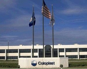 Coloplast building sign