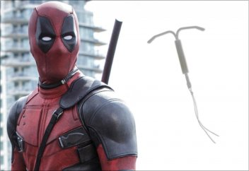 Deadpool with IUD