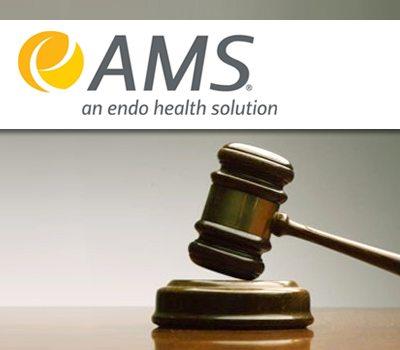 Endo AMS Unit Settles