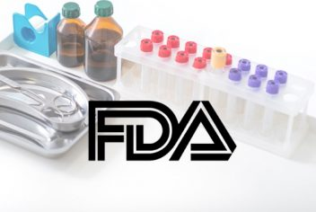 FDA sign with medical equipment