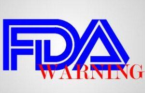 FDA warning logo