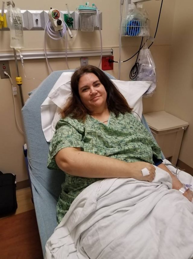 Rachel Brummert hospitalized over Levaquin use