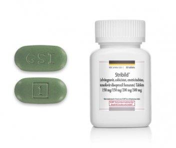 Stribild tablets and bottle