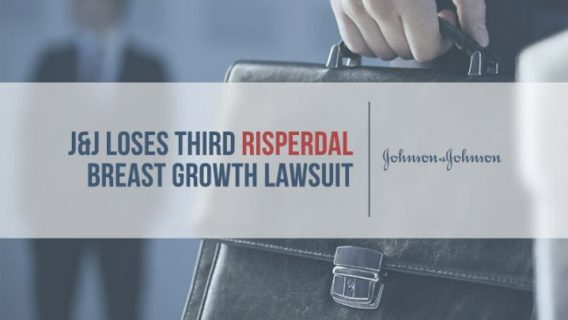 J&J Loses Third Risperdal Breast Growth Lawsuit