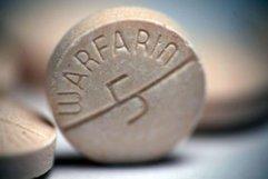 Warfarin pill.