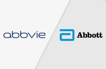 Abbive and Abbott logo split.