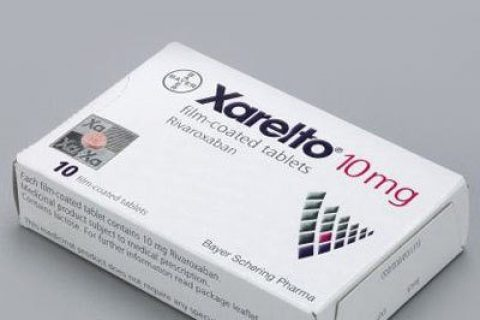 Xarelto Blood thinner box