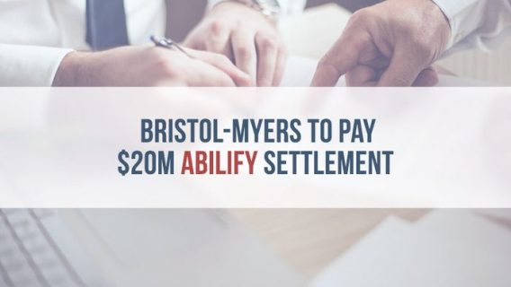 Bristol-Myers to Pay $20M Abilify Settlement