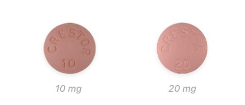 Crestor tablets dosage