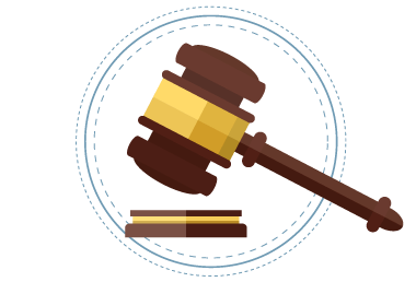 Gavel illustration