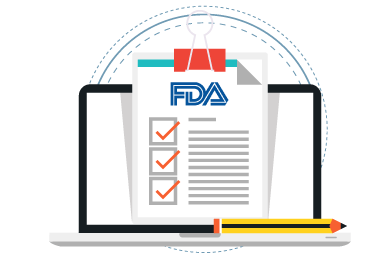 FDA reporting illustration