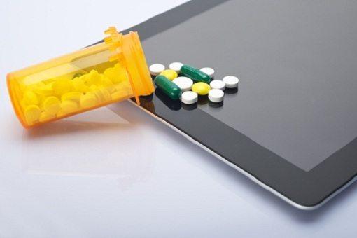 pills spilled on ipad