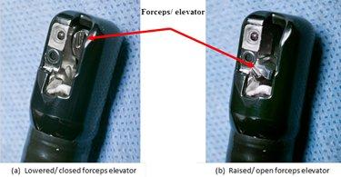 Olympus duodenoscope model TJF-Q180V