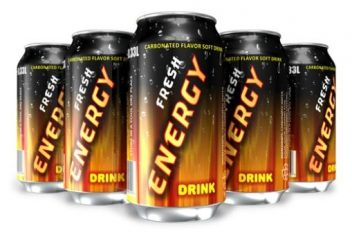 Fresh Energy drinks
