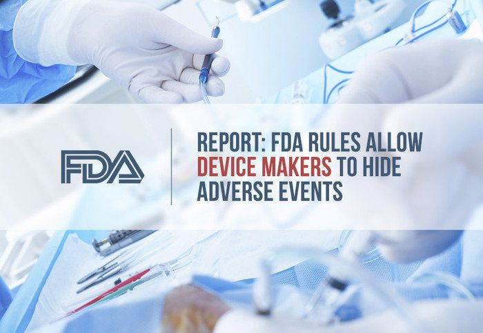 fda rules allow device makers to hid adverse events