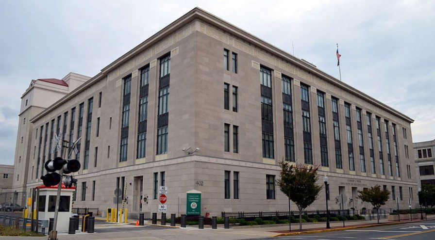Clarkson S. Fisher Federal Building and United States Courthouse in Trenton, New Jersey.