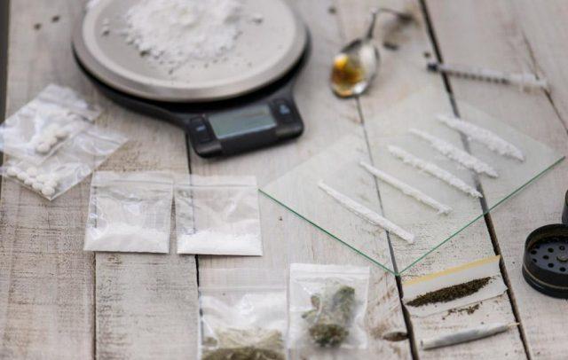 Assorted dangerous drugs