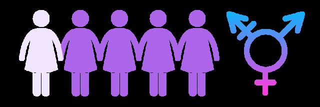 Transwomen illustration