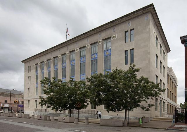 New Jersey courthouse