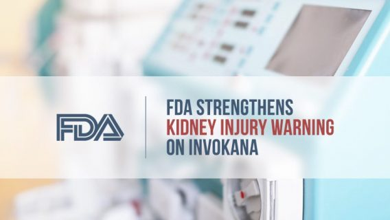 FDA Strengthens Kidney Injury Warning on Invokana