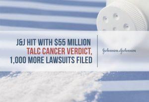 Talcum Powder Verdict for $55 Million