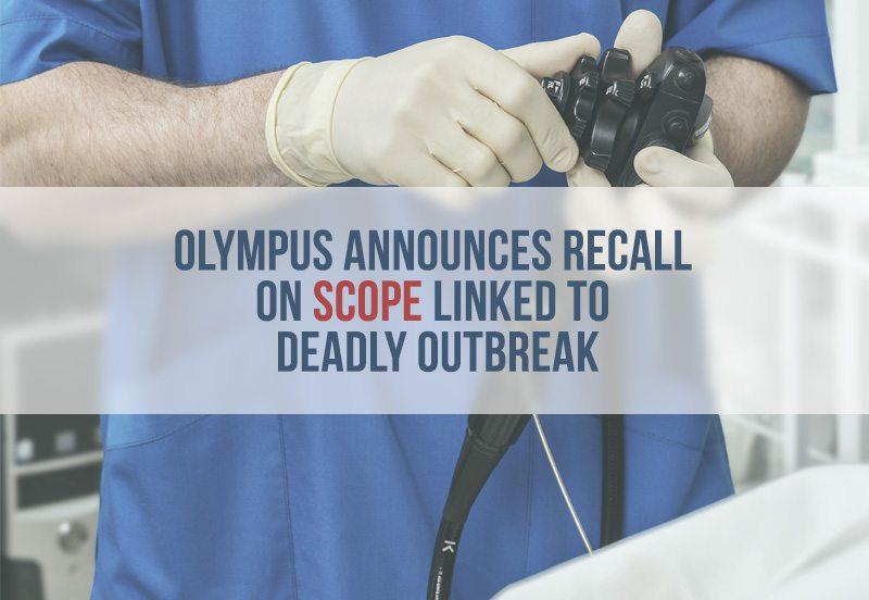 Doctor adjusts Olympus Scope