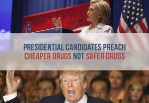 Hillary Clinton, Donald Trump and other candidates describe health care plans.