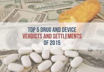 Top 5 Big Pharma Verdicts and Settlements of 2015