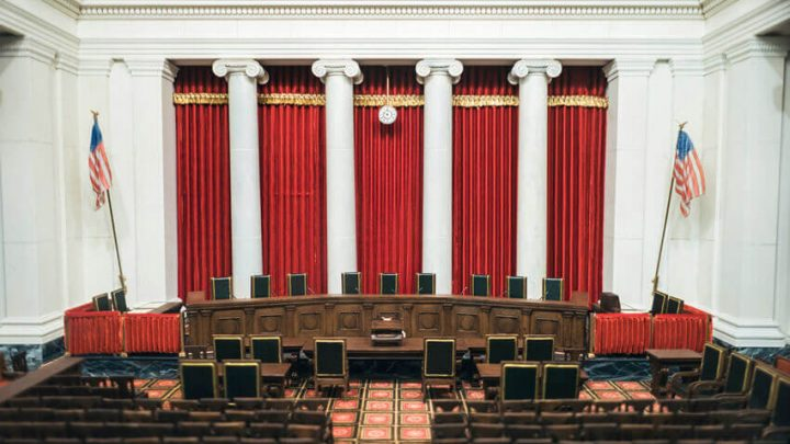united states supreme courtroom