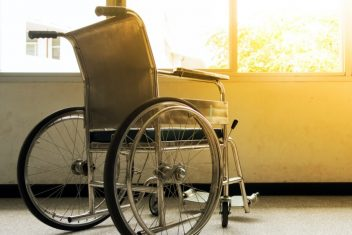 Nursing home wheelchair