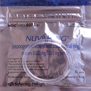 NuvaRing packaging