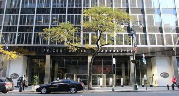 Picture of Pfizer World Headquarters in Manhattan, New York