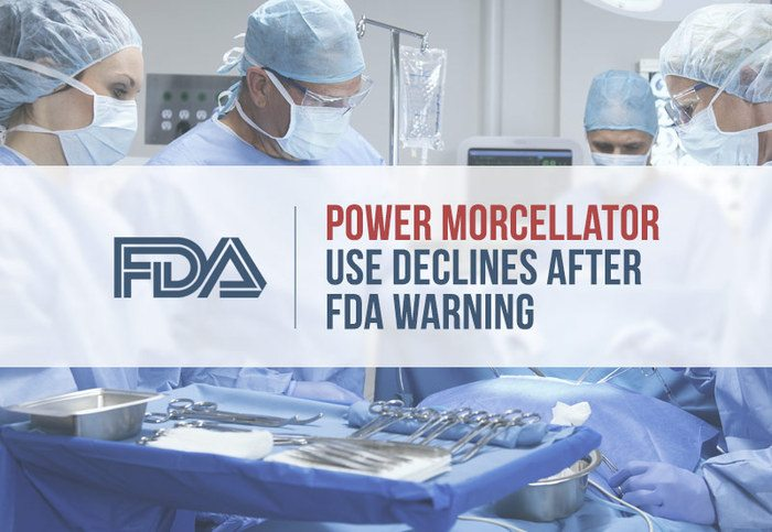 power morcellator use declines fda