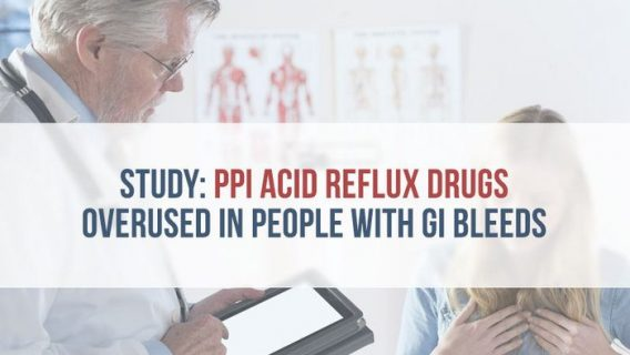 Study: PPI Acid Reflux Drugs Overused in People with GI Bleeds