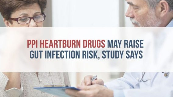 PPI Heartburn Drugs May Raise Gut Infection Risk, Study Says