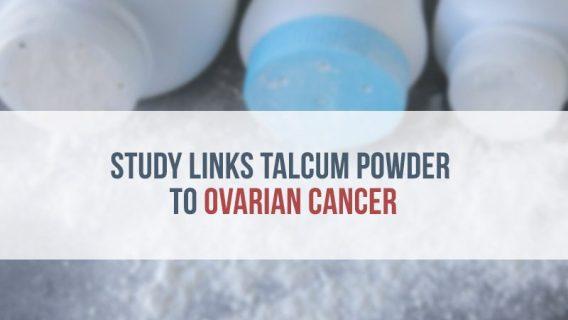 Study Links Talcum Powder to Ovarian Cancer