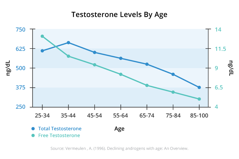 testosterone levels by age
