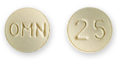 Topamax 25mg pills