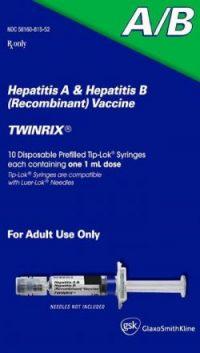 Twinrix Hepatitis A/B Vaccine Packaging