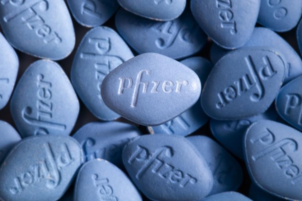 Pfizer Viagra pills