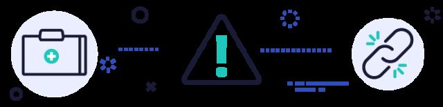 warning illustration