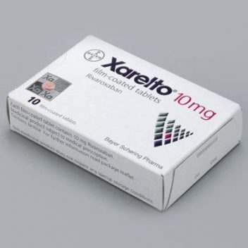 Xarelto Blood thinner box
